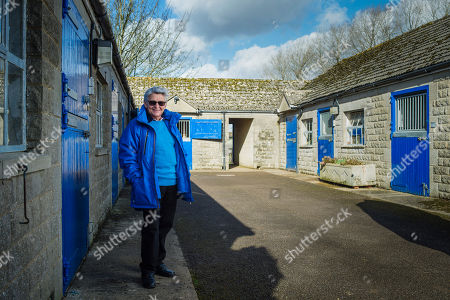 Flat racing legend Willie Carson at his Minster stables