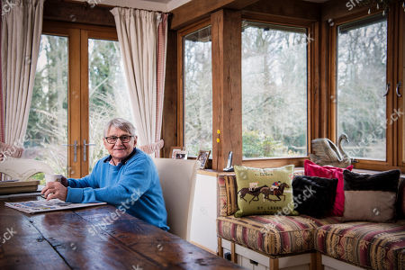 Flat racing legend Willie Carson at home