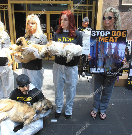 Last Chance for Animals Silent Protest, Los Angeles