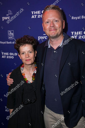 Stock Photo of Sally Cookson (Director) and Patrick Ness (Author)