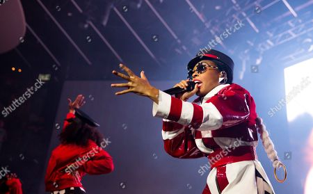 Janelle Monae during the Dirty Computer Tour