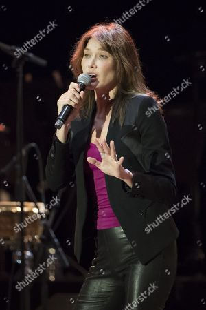 Carla Bruni in concert, Antibes, France - 17 Jul 2018