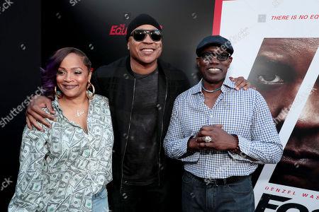 Simone Smith, LL Cool J and Wesley Snipes