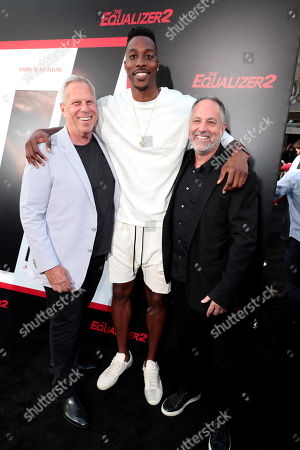 Steve Tisch, Producer, Dwight Howard and Todd Black, Producer,