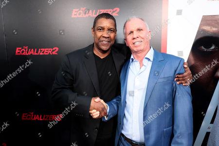 Denzel Washington, Producer/Actor, and Richard Wenk