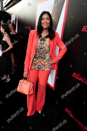 Cookie Johnson attends the Los Angeles premiere of Columbia Pictures' THE EQUALIZER 2 at TCL Chinese Theatre, supported in part by Lyft.