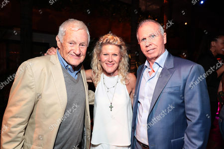 Orson Bean, Alley Mills and Richard Wenk, Writer/Executive Producer, attend the Los Angeles premiere after-party of Columbia Pictures' THE EQUALIZER 2 at the Roosevelt Hotel, sponsored in part by Heineken, Portobello gin, Chopin vodka and Clase Azul Tequila.