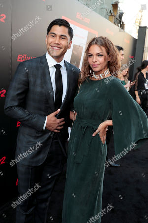 Stock Picture of Martin Sensmeier and Kahara Hodges