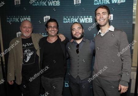 Andy Ross, Chaz Barsamian, Sam Garay and Kevin Lax