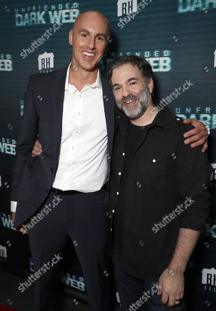 Stock Image of Douglas Tait and Writer/Director Stephen Susco