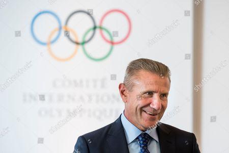 Editorial photo of IOC executive board meeting in Lausanne, Switzerland - 18 Jul 2018