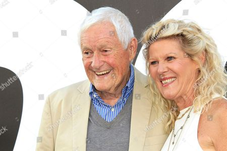 Stock Image of Orson Bean and Ally Mills