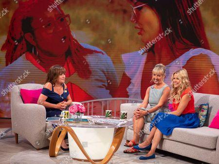 Lorraine Kelly, Aggie Mackenzie, Melinda Messenger