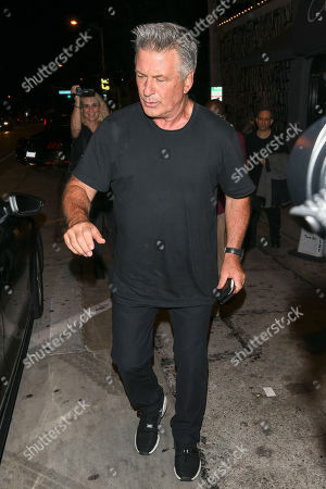 Alec Baldwin out and about, Los Angeles