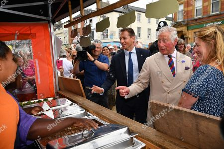 Prince Charles in Honiton