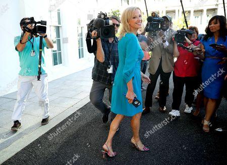 Kellyanne Conway talks with the media, Washington DC