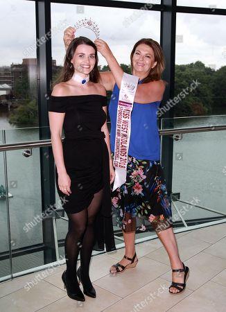 Miss England photoshoot at Resorts World, Birmingham