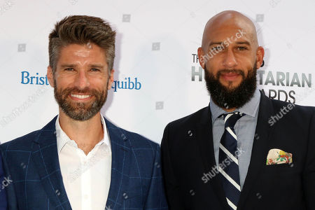 Stock Photo of Kyle Martino, Tim Howard