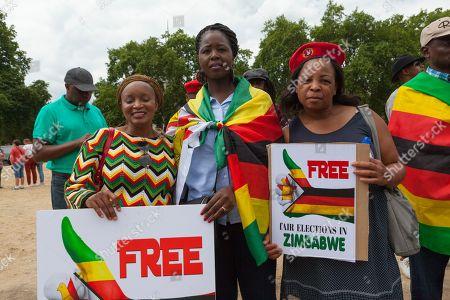Zimbabwian Stop Deportation Protest, London