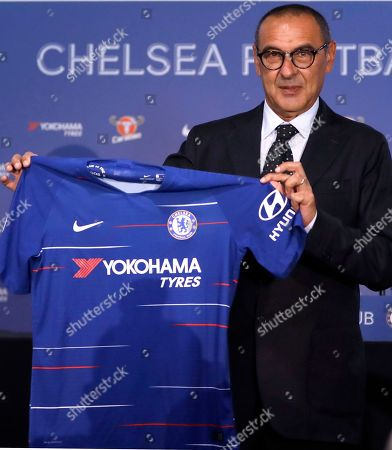 New Chelsea manager Maurizio Sarri press conference, London