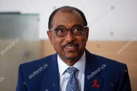 Editorial picture of UNAids chief, Paris, France - 18 Jul 2018