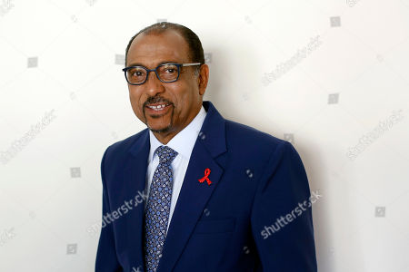 Executive Director of UNAIDS Michel Sidibe, Paris