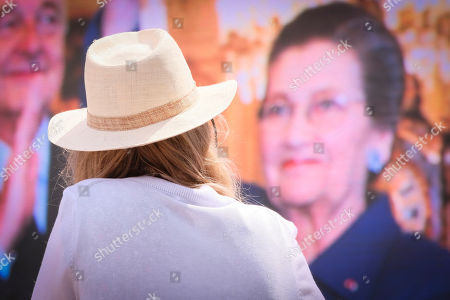 Ceremony to honour the memory of Simone Veil, former President of the European Parliament, in presence of representatives of Jewish Associations and Ixelles Authorities