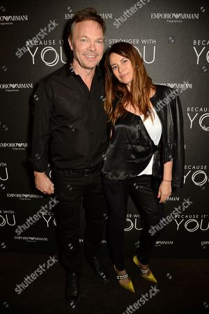 Pete Tong and his wife