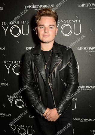 Editorial picture of Emporio Armani 'Stronger With You' Fragrance launch party, London, UK - 18 Jul 2018