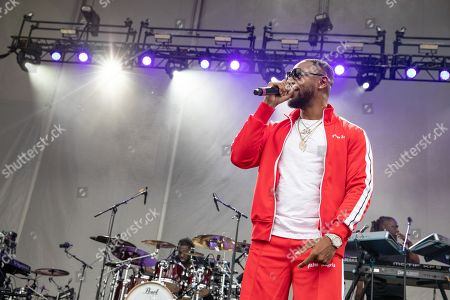 Editorial picture of 4th Annual V103 Summer Block Party, Huntington Bank Pavilion, Chicago, Illinois, USA - 14 Jul 2018