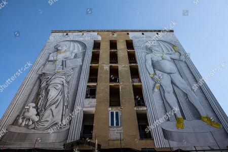 New murals by street artist Blu unveiled, Rome