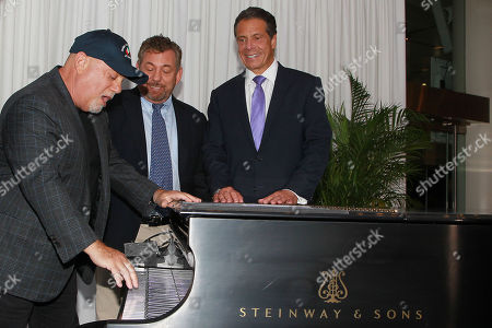Billy Joel and James L. Dolan, Governor Andrew Cuomo
