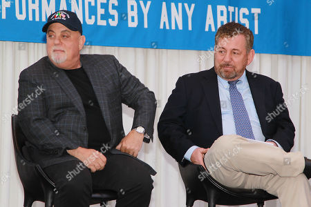 Billy Joel and James L. Dolan