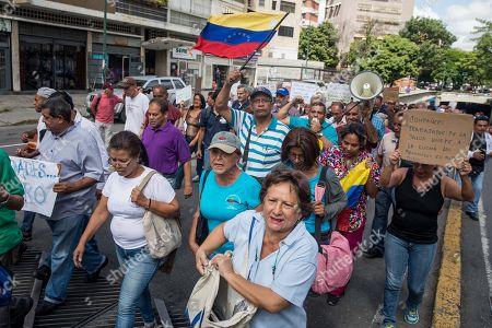 Protests over Venezuela's economic crisis, Caracas