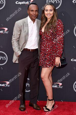 Sugar Ray Leonard and Camille Leonard