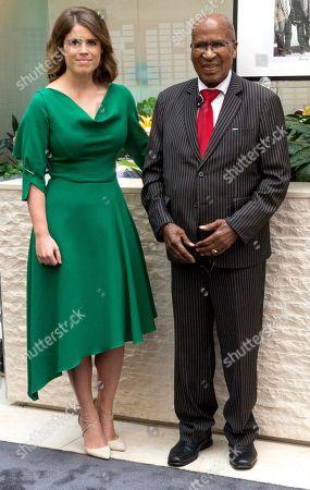 Princess Eugenie of York and anti-apartheid icon Andrew Mlangeni