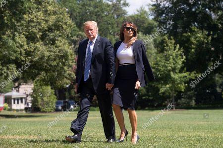 Donald J. Trump and Melania Trump