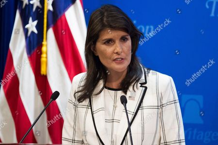 Speech on the US withdrawal from the United Nations Human Rights Council, Washington DC