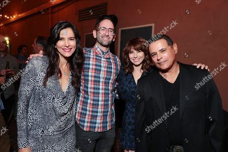 Patricia Velasquez, Director Michael Chaves, Linda Cardellini and Raymond Cruz