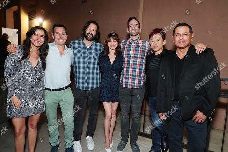 Patricia Velasquez, Producer Emile Gladstone, Producer Gary Dauberman, Linda Cardellini, Director Michael Chaves, Producer James Wan and Raymond Cruz