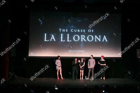 Patricia Velasquez, Raymond Cruz, Linda Cardellini, Director Michael Chaves and Grae Drake