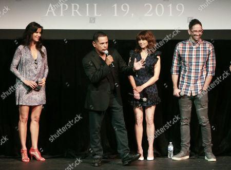 Patricia Velasquez, Raymond Cruz, Linda Cardellini and Director Michael Chaves