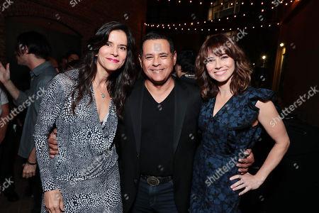 Patricia Velasquez, Raymond Cruz and Linda Cardellini