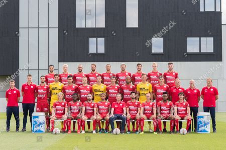 Editorial photo of Zulte-Waregem football club photocall, Belgium - 18 Jul 2018