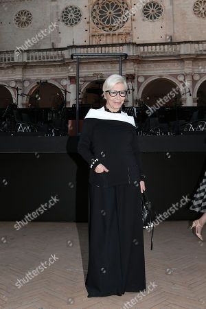 Stock Photo of Anna Fendi during the 'Jeanne D'Arc Au Bucher' theatrical closing show