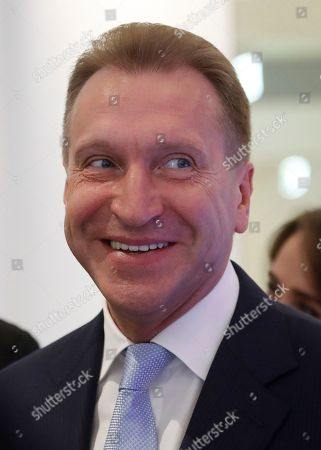 Chairman of Vnesheconombank Igor Shuvalov attends Moscow Urban Forum 2018, in Moscow, Russia, . The forum focuses on a discussion of the results of large-scale urban transformations over the last decades, the solutions and selection of tools for building the future of the largest global cities, and the adaptation of spatial solutions and infrastructure to meet changing economic, environmental, technological, social and cultural demands