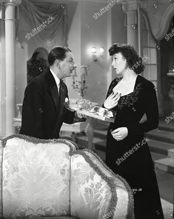 Geoffrey Sumner (Lord Tilbrook), Googie Withers (Bumble Pelham)