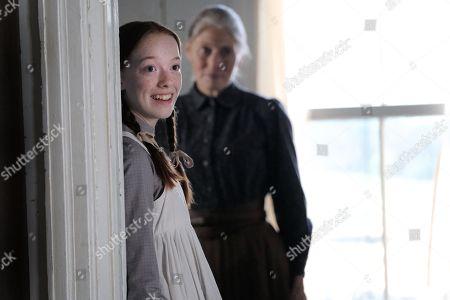 Amybeth McNulty, Geraldine James