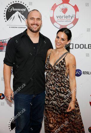 Erik Aude and Erin O'Brien