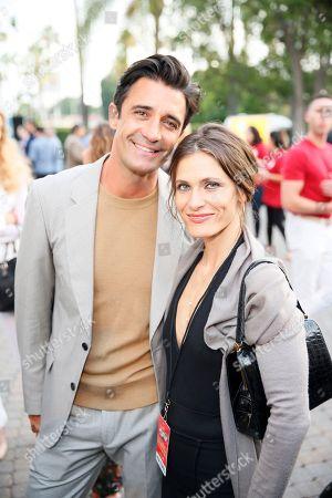 Gilles Marini and Lili Bordan